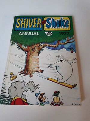 Vintage Shiver and Shake Annual 1977 Book