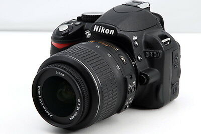 Nikon D3100  VR Nikkor AF-S 18-55mm Lens Kit 14.2MP DSLR Digital Camera [EX+++]