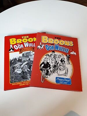 The Broons And Oor Wullie Happy Days + A Nations Favourites