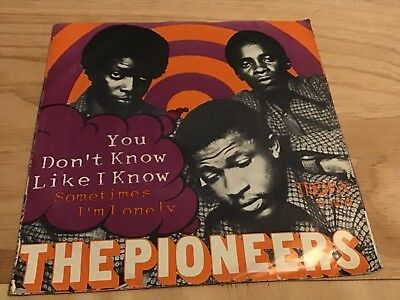 The Pioneers*you Don't Know Like I Know ( Killer Soul Cover)*german Trojan PS