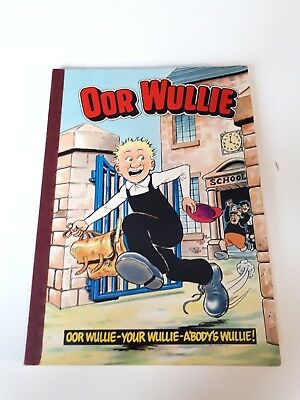 Oor wullie book DC Thompson from 1984