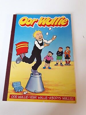 Oor wullie book DC Thompson from 1990