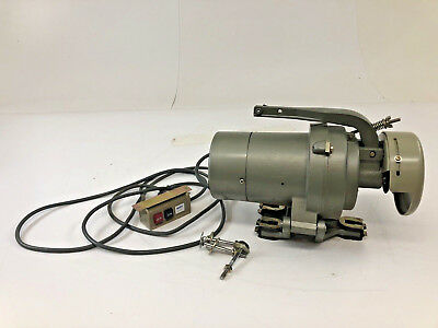 Vintage Clutch Motor commercial sewing machine transmitter UNITY 1/2 HP 5.6 AMP
