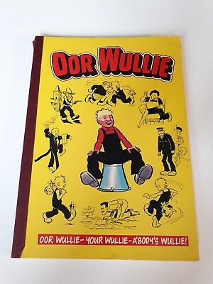 Oor wullie book DC Thompson from 1986
