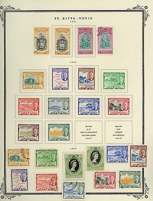 ST KITTS & NEVIS Album Page Lot #SPEC7 - SEE SCAN - $$$