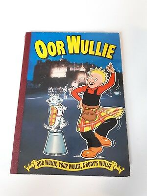 Oor wullie book DC Thompson from 1992