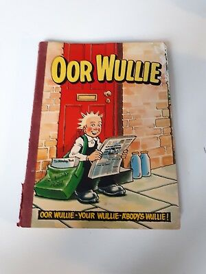Oor wullie book DC Thompson from 1982