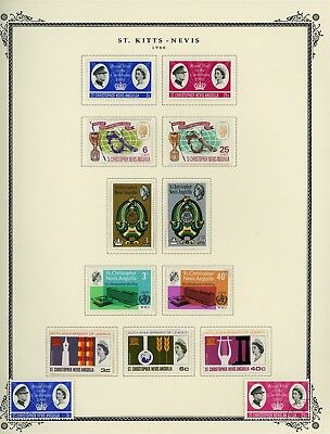 ST KITTS & NEVIS Album Page Lot #SPEC13 - SEE SCAN - $$$