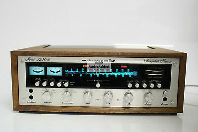 Marantz 2250B Stereo Receiver *serviced & recapped* new wood case **excellent**
