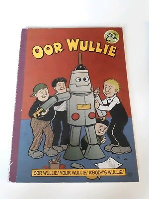 Oor wullie book DC Thompson from 2015