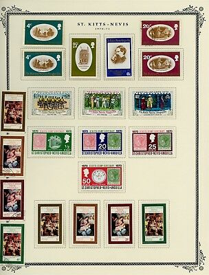 ST KITTS & NEVIS Album Page Lot #SPEC18 - SEE SCAN - $$$