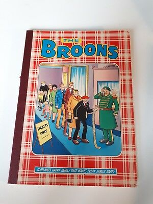 The Broons book DC Thompson from 1981