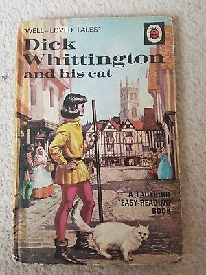 Dick Whittington and his cat, LADYBIRD, Well-Loved Tales, series 606D 1966