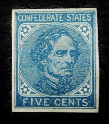 nystamps US CSA Confederate Stamp # 7a Mint OG H $25