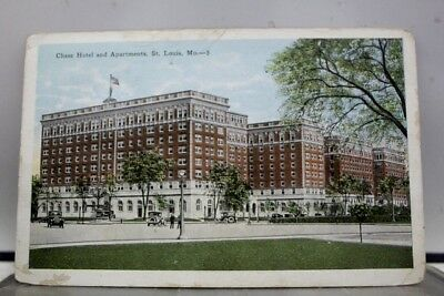 Missouri MO St Louis Chase Hotel Apartments Postcard Old Vintage Card View Post