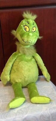 21 inch grinch who stole christmas GRINCH plush kohls cares