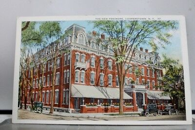 New York NY Fenimore Hotel Cooperstown Postcard Old Vintage Card View Standard