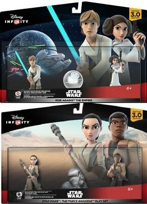 NEW DISNEY INFINITY 3.0 STAR WARS Rise Against The Empire Force Awakens Playsets