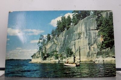 Minnesota MN Border Waters Postcard Old Vintage Card View Standard Souvenir Post