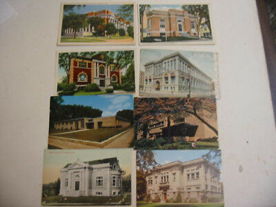 50 library Postcards