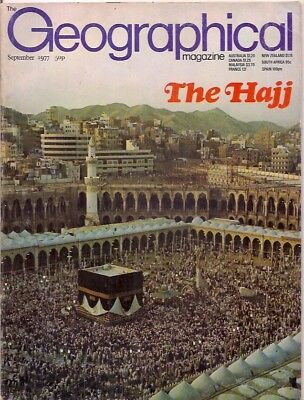 the geographical magazine-SEPT 1977-THE HAJJ.