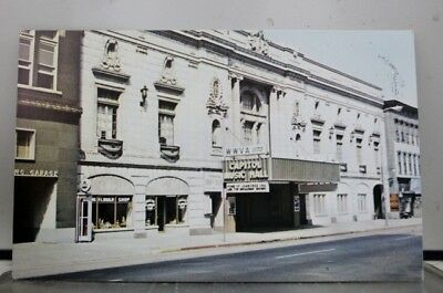 West Virginia WV Capitol Music Hall Wheeling Postcard Old Vintage Card View Post