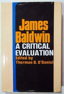 1977 JAMES BALDWIN – A Critical Evaluation – Comprehensive Study of Career - 1st