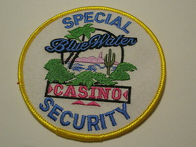 Blue Water Casino Special Security Patch Tribal Tribe Arizona