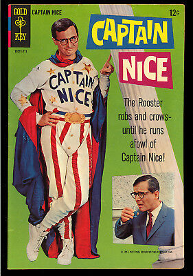 Captain Nice #1 Very Nice One-Shot First Issue Gold Key TV Comic 1967 FN-VF