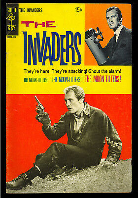 The Invaders #3 (Back Cover & Cover Price Variant) TV Aliens 1968 VG-FN