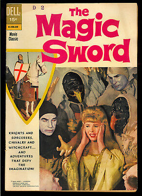 Movie Classic: The Magic Sword #nn Nice Hard to Find Dell Comic 1962 VG+