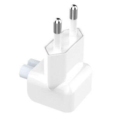 EU AC Power Wall Plug Duck Head For Apple MacBook Pro Air Adapter PC Charger