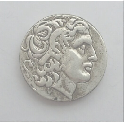Alexander III the Great 336-323 BC Silver Drachm Ancient Greek Coin silver