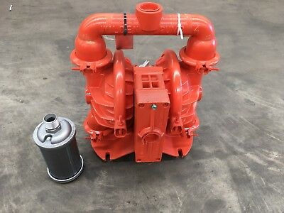 """Wilden 04-12274 Pump 1 1/2"""" Metal Air Operated Double Diaphragm Pump Xpx4"""