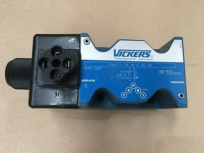 VICKERS EATON DG4V 5 2A M U A6 20  DIRECTIONAL CONTROL VALVE hydraulic