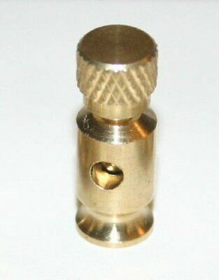 6 Deluxe Limited edition All Brass Binding posts for good looking crystal Radios