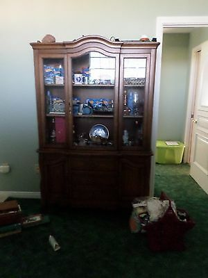 1950's Display Cabinet or Buffet for the Dining room GOOD Condition needs a home