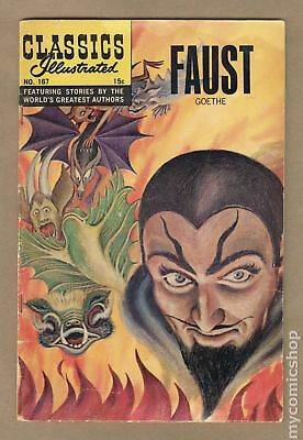 Classics Illustrated 167 Faust #1 1962 GD+ 2.5