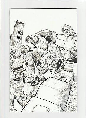 IDW Comics : Transformers Spotlight : Jazz Incentive cover