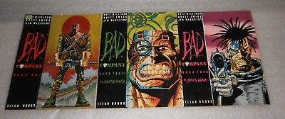 This is a listing for (2000 AD) Bad Company Books 1,3 and 4