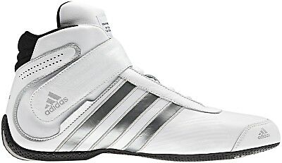 adidas Daytona FIA Approved Race Boot White/Silver