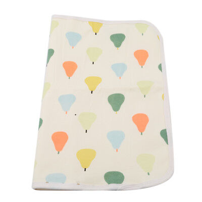Baby Infant Cotton Waterproof Urine Mat Cover Burp Changing Pad Reusable Mat LG