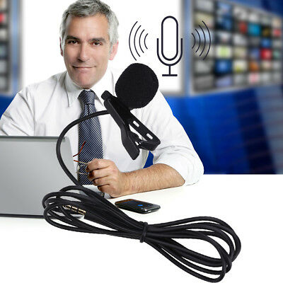 High Quality Clip-on Lavalier Omni-directional Condenser Microphone
