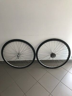 Wheelset MAVIC Open 4 Ceramic, Campagnolo C-Record hubs 7 Speed 36 holes