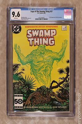 Swamp Thing (2nd Series) #37 1985 CGC 9.6 0311616003