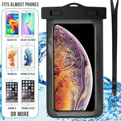 Underwater Waterproof Case Dry Bags Pouch Mobile Phone iPhone X Xs XR