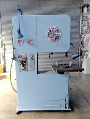 "DoALL MODEL 2612 VERTICAL BAND SAW 26"" X 12"" CAPACITY WITH BAND WELDER"