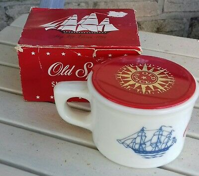 Vintage Shaving Mug In Original Box Old Spice
