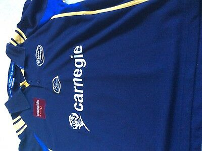 size l Leeds Carnegie rugby top