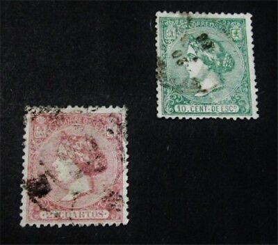 nystamps Spain Stamp # 81 85 Used $60